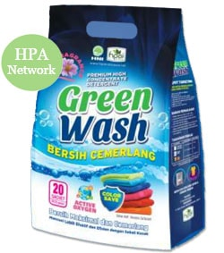 Produk Green Wash Detergent HNI asli. Posted by Susara Indra Buani