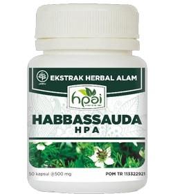 Produk HPA Indonesia Habbassauda Kapsul