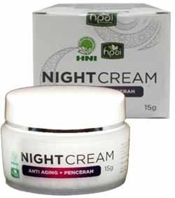 Produk HPA Indonesia Beauty Night Cream